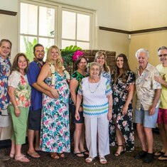 2018 July- Pachiano family at Baby Shower for Kahlia Leaverton, Menifee, CA