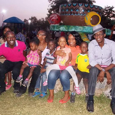 Making memories for the children. 31st Dec. 2013.