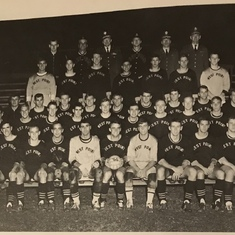 West Point soccer team, 1966-1967 year.
