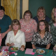 At a Mystery Dinner Theater in Orlando Fl with friends
