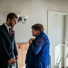 at Drew & Katelyn's wedding (November 2018)