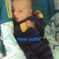 First outfit daddy bought you.