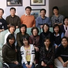 Pak family holiday gathering, 2008