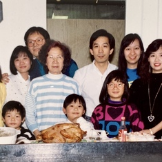 Thanksgiving dinner at Eliza & Wai Kim's home in Toronto