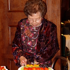 86th Birthday Dinner ~ 2009