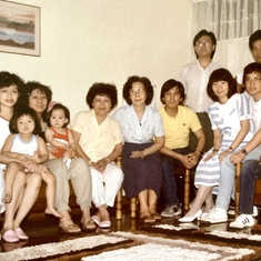 With the Leung's (Rosa's family)