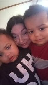 This is Jessica with her twins Chance and Cash! The Loves of her life!