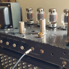 A Little Birtha Amp made by Jimmy Lineham