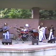 Another blues jam with Jimi in 1992