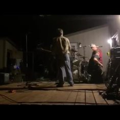 Jimmy jamming for Ray Arnett's wake - summer 2015. Jimmy Lineham and  Benny Davison guitar. Pat Corrigan  on bass guitar. Tom Qvinge on drums. Joel Chernick helping out with technical details. This may be the last video taken of Jimmy Lineham. Video donat