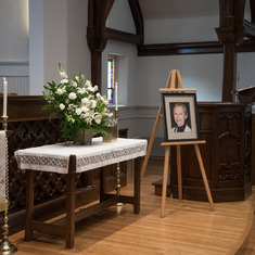 A celebration of Mom's life was held on Saturday October 31st 2015