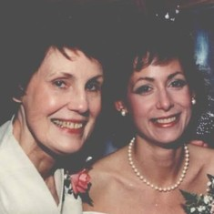 Joan and Nanci - Nov. 3, 1990