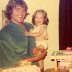 Dad and Cola's first B-day June 22, 1973