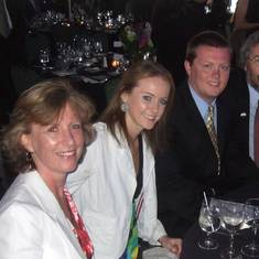 John, Alison, Katie, and Chris at the Crystal Awards in Chicago (2009)