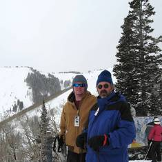 John and Chris in Colorado (2008)