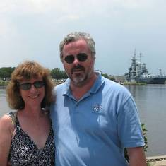 John and Alison in Wilmington (2012)