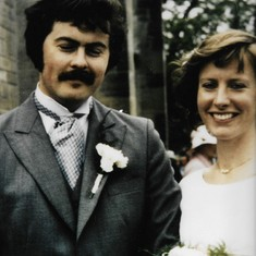 John and Alison's wedding (1980)
