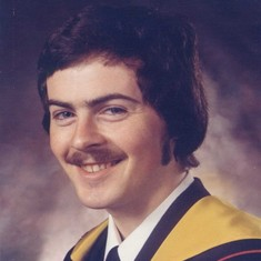 John's Bachelor of Science graduation photo