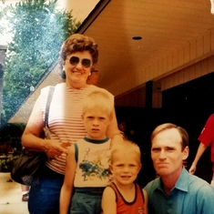 Gmom Jonny Big john and markie ...such a beautiful picture