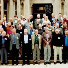 A great among the greats - meeting in Princeton of the Society of Experimental Psychologists, 2001