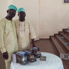 Presentation of books in honour of Engr Fatikun 'God is interested in You'