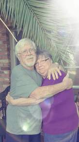 Daddy and the love of his life our mother Kathy Clements