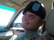 Jon right after graduating from Basic Training in NC