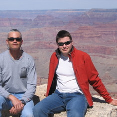 Grand Canyon - at the top
