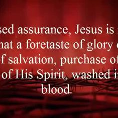 Blessed Assurance Lyrics (Worship Always)