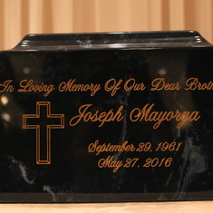 In memory of Joseph Mayorga.