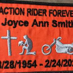 She was an Action Riders member
