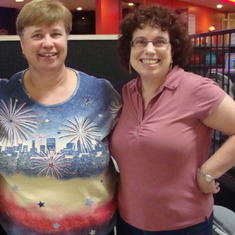Bowling Buddies - Judi and Pam