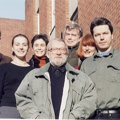 HSP Sussex staff December 1999.  Typical modesty of Julian to have put himself in the back row!