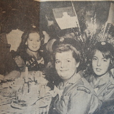 June as a Girl Scout - Troop 319 of Aldenville