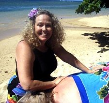 Kalia the massage therapist in Kauai