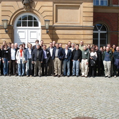 A group photo from the 2006 workshop that Reinhold Kliegl organized in Potsdam, Germany.