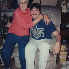 keith and granny Lectie