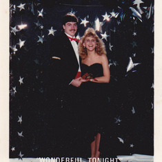 Keith and Misty Tayes at prom.May 12 1990
