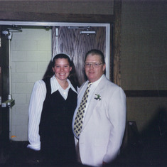 Dad with Jami Martin-Reed
