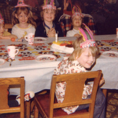 Janice's B Day Party 1976