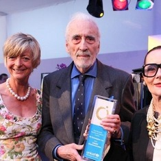 The late great Sir Christopher lee (My Friend)