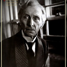 The Late Great Peter Cushing  (My friend)