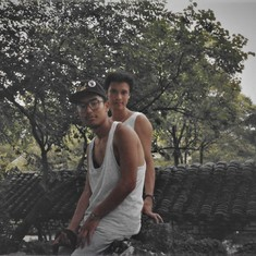 Hanging out in Hang Zhou, 1992