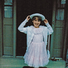 Laura at 6 years old