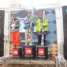 Ian 2nd place JFT @ Crested Butte, this ones for you Leif!