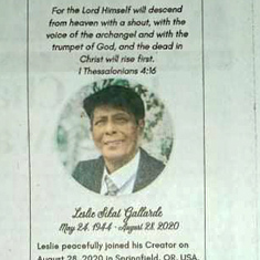 Dad's colored obit. ❤ Published on 4 Oct 2020. The Sunday prior to the 40th day.