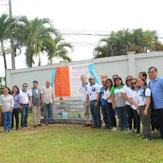 Launching of the NOCWCA Ramsar site marker in Kabankalan City