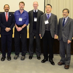 Lew and colleagues at MOP 8 in Kushiro