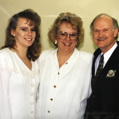 Melanie, Mom and Dr. Wittliff