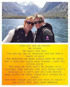 Missing you everyday my beautiful sis. Memories to cherish always but sometimes don't seem enough x